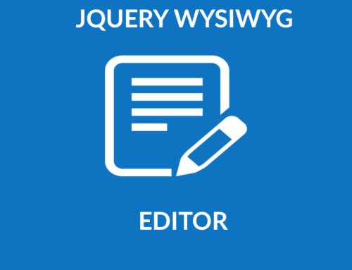 Jquery Wysiwyg Editor